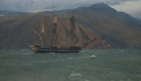 HMS Blossom in Pacific Waters, 1827 / Christopher Blossom / 20.00x34.00 / $30000.00