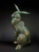 Hare Raising / Tim Cherry / 48.00x28.00 / $25500.00