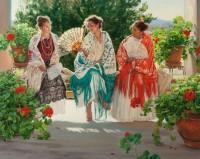 The Three Graces / Terri Kelly Moyers / 48.00x60.00 / $68000.00/ Sold