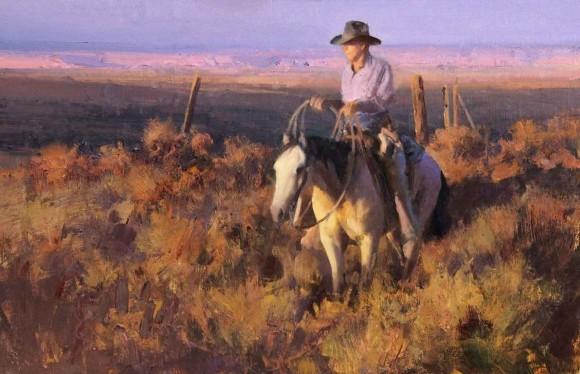 The Sunlit Plains / Bill Anton / 14.00x21.00 / $10000.00/ Sold