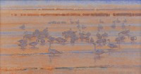 Notes On A Winter Marsh / Jim Morgan / 12.00x22.00 / $4900.00