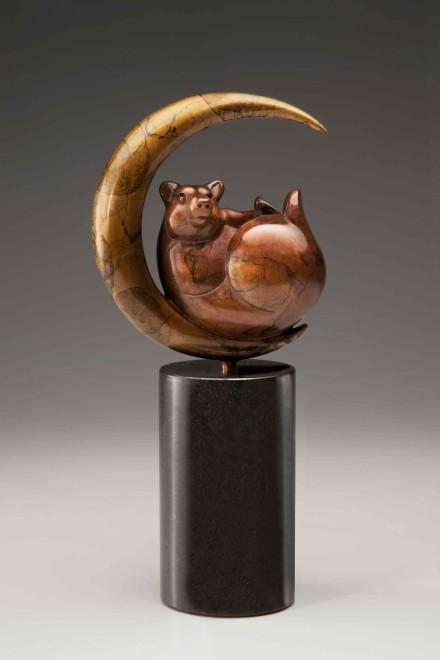 Luna Bear / Tim Cherry / 14.00x7.00 / $3400.00