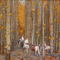 Ancient Trail / John Moyers / 36.00x36.00 / $36000.00/ Sold