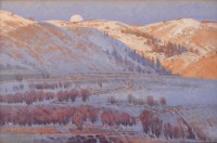 Road To Deep Canyon / Jim Morgan / 20.00x30.00 / $12500.00