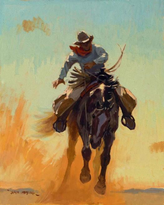 Rough and Tumble / John Moyers / 16.00x20.00 / $9500.00/ Sold