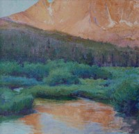 New Day Castle Peak, White Clouds Wilderness / Amy Sidrane / 30.00x30.00 / $10000.00