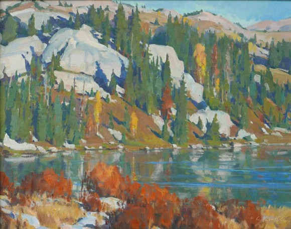 Autumn in the Sawtooths / G. Russell Case / 16.00x20.00 / $6000.00