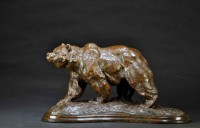 Track of the Silvertip / Tim Shinabarger / 14.00x27.00 / $6800.00/ Sold
