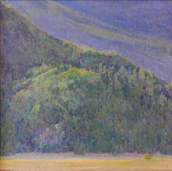 Bonner's Mountain / Amy Sidrane / 26.00x26.00 / $7600.00