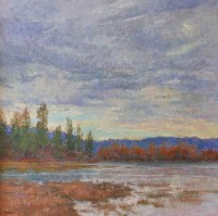Northern Marshland / Amy Sidrane / 28.00x28.00 / $8800.00