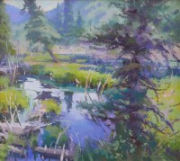 Waterland / Jill Carver / 21.00x23.00 / $4500.00/ Sold