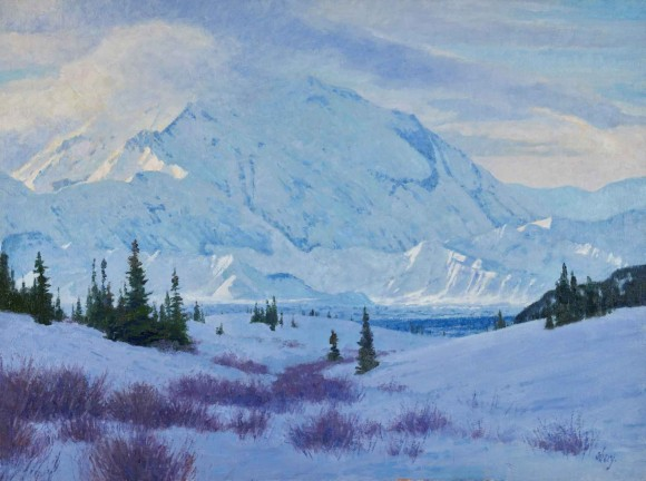 Under Denali, the Great One / Ralph Oberg / 30.00x40.00 / $18500.00