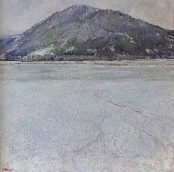 Winter Fishing / Amy Sidrane / 24.00x24.00 / $6500.00