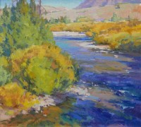 High Country Creek / Jill Carver / 21.00x23.00 / $4825.00/ Sold