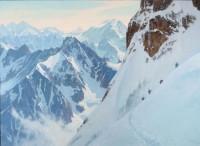 Alpine Adventurers / Ralph Oberg / 44.00x60.00 / $33000.00/ Sold