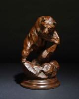 Marmot Hunter / Tim Shinabarger / 12.00x7.00 / $2800.00