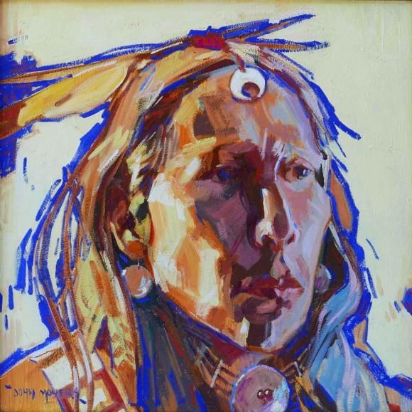 Southern Cheyenne / John Moyers / 24.00x24.00 / $15000.00/ Sold