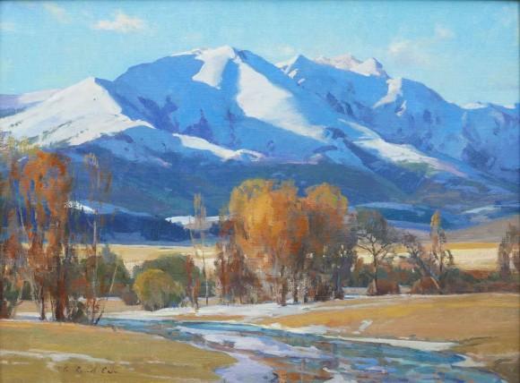 Winters Begin / G. Russell Case / 18.00x24.00 / $7000.00