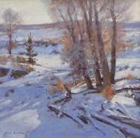 Winter Cottonwoods / Grant Redden, CA / 12.00x10.00 / $2500.00/ Sold