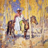 Peaceful Days / John Moyers / 40.00x40.00 / $42000.00