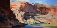 Near Moab / Jill Carver / 8.00x16.00 / $1550.00/ Sold