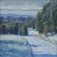 It's Winter / Len Chmiel / 12.00x12.00 / $3600.00