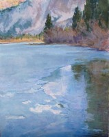 Ice Reflection / Amy Sidrane / 40.00x32.00 / $14400.00/ Sold