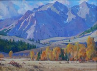 October Boulders / G. Russell Case / 12.00x16.00 / $3200.00/ Sold