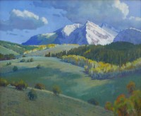 Fall Color - McClure Pass / Wayne Wolfe / 24.00x30.00 / $14000.00