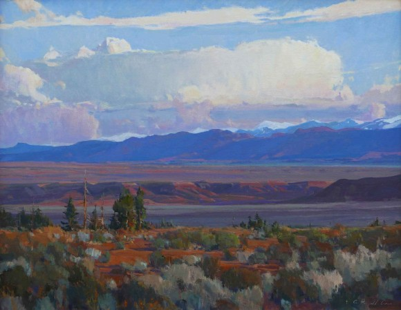 High Desert Wyoming / G. Russell Case / 24.00x30.00 / $9800.00