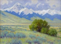 Diamond Peak from Birch Creek / Ralph Oberg / 18.00x24.00 / $6800.00