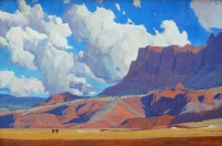 Dancing Skies / G. Russell Case / 24.00x36.00 / $13000.00/ Sold