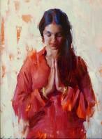 Namaste / Suchitra Bhosle / 12.00x9.00 / $2700.00