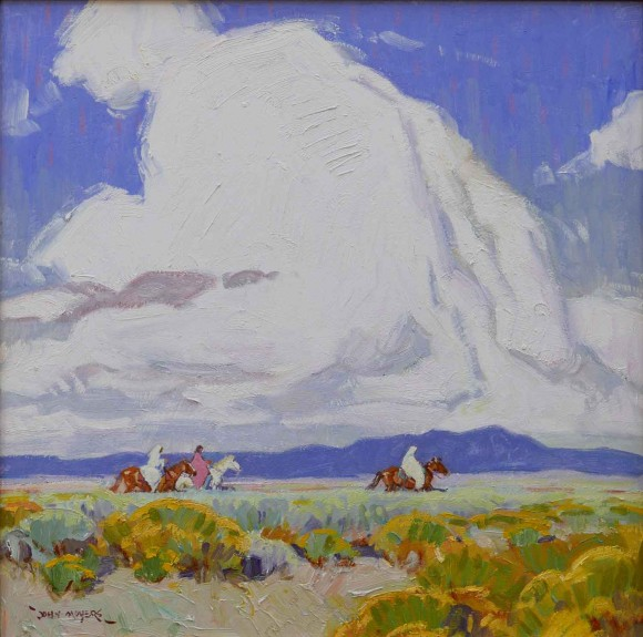 The Trail Home / John Moyers / 24.00x24.00 / $15000.00/ Sold