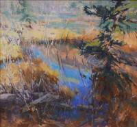 Beaver Pond / Jill Carver / 30.00x32.00 / $7950.00
