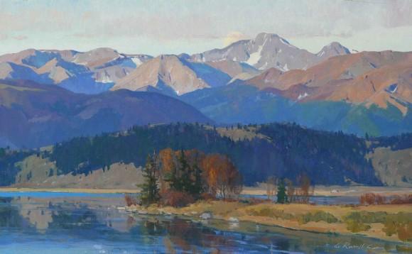 Wyoming Splendor / G. Russell Case / 18.00x30.00 / $8500.00