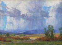 Idaho Rain / G. Russell Case / 12.00x16.00 / $3200.00