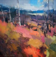 September Squall / Jill Carver / 14.00x14.00 / $1850.00/ Sold