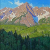 Colorado Mountain Morning / Ralph Oberg / 32.00x32.00 / $14800.00