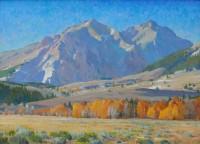 Boulder Mountain Autumn / G. Russell Case / 22.00x30.00 / $8000.00