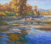 Snake River Afternoon / Jill Carver / 36.00x40.00 / Price Upon Request