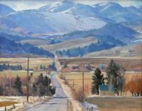 Winter Hills / G. Russell Case / 16.00x20.00 / $6000.00