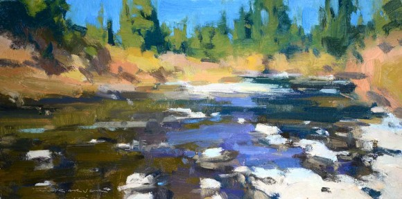 Blue Sky Day / Jill Carver / 8.00x16.00 / $1650.00