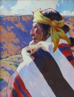 Canyon Man / John Moyers / 30.00x22.00 / $18000.00/ Sold