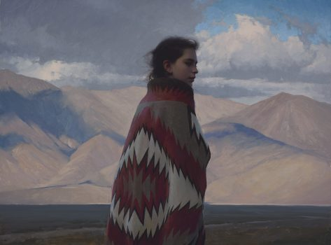 Rain Shadow by Jeremy Lipking, 30 high X 40 wide , oil on linen, $48,000.00